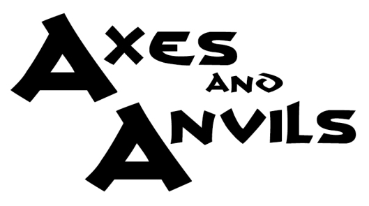 Axes and Anvils draft nameplate